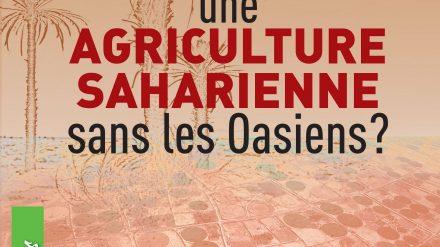 Parution d'un ouvrage sur l'agriculture saharienne